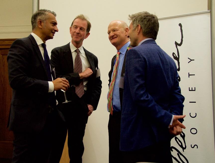 Dr Gordon Sanghera, Alex Stewart, Lord Willetts, Stephen Bennington