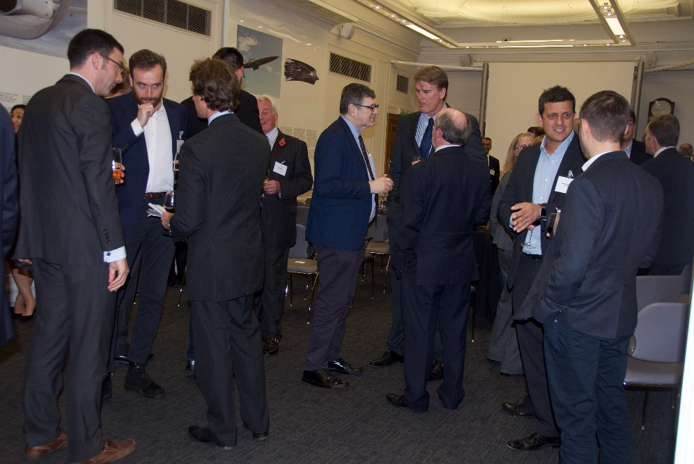 Networking after the Awards Ceremony