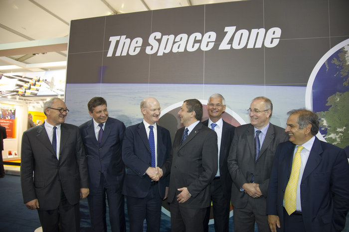 David Willetts and the UK Space Agency